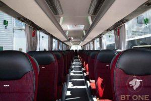 салон туристического автобуса